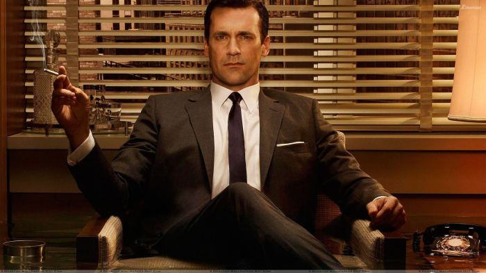 Mad Men - Jon Hamm Sitting Pose