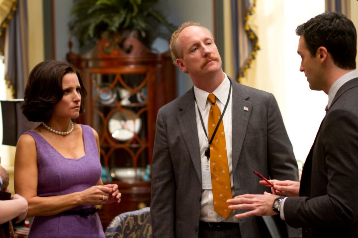 2 Julia Louis-Dreyfus as Selina Meyer in Veep
