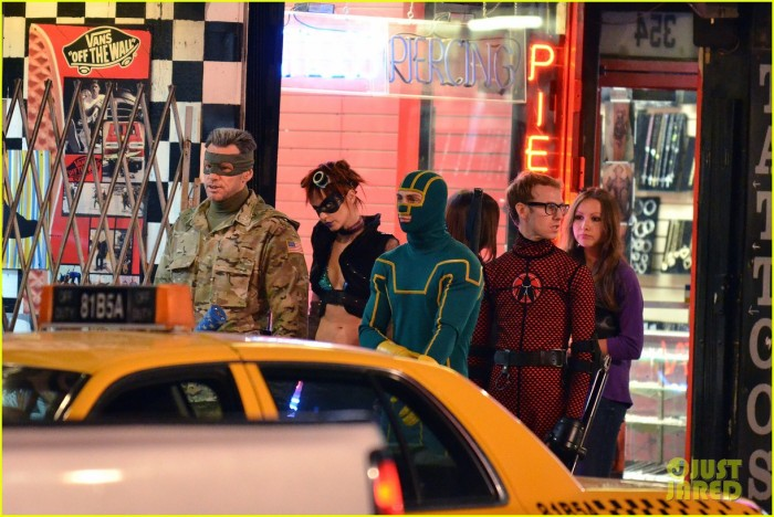 A First Look of Jim Carrey as 'Colonel Stars' on Set of 'Kick-Ass 2: Balls to the Wall'