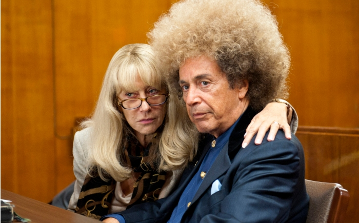 "Phil Spector Helen Mirren and Al Pacino in HBO Films' ""Phil Spector."""