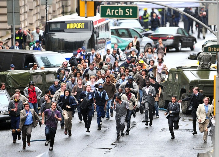 "GV'S ""World War Z"" Film Set In Scotland (USA & OZ/NZ ONLY)"