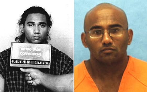 Foto : Los verdaderos Daniel Lugo (arriba) y Adrian Doorbal (abajo) en ...