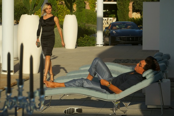 cameron diaz and javier bardem in THE COUNSELOR