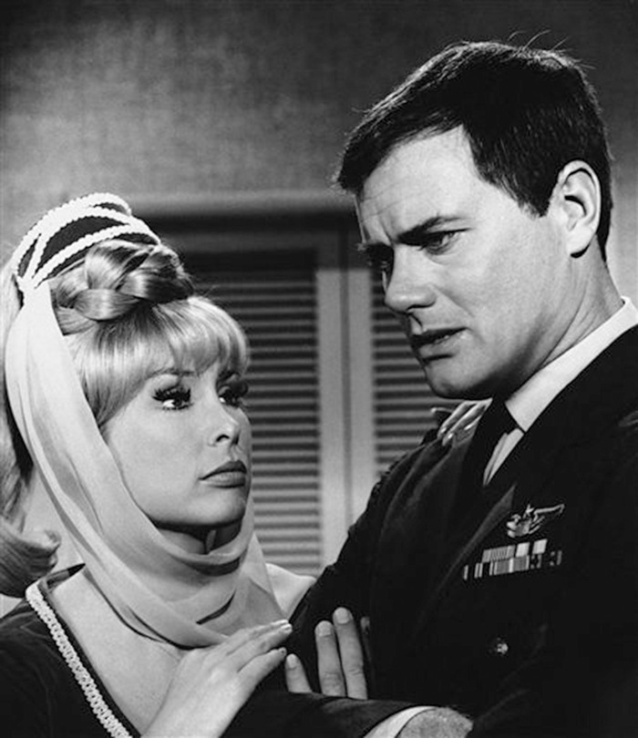 Barbara Eden, Larry Hagman