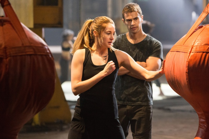 SHAILENE WOODLEY and THEO JAMES star in DIVERGENT