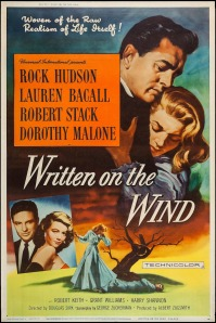 WRITTEN ON THE WIND - American Poster by Reynold Brown 1