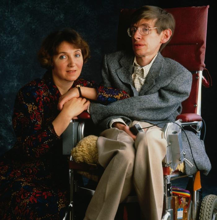 Stephen Hawking And Jane