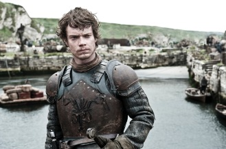 ***MUST SPEAK TO ELISHA BEFORE USING PRIOR TO 6/3/12 ** FOR TV WEEK -- DO NOT PURGE --  GAME OF THRONES episode 15 (season 2, episode 5): Alfie Allen. photo: Helen Sloan