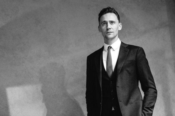 TORONTO, ON - SEPTEMBER 06:  (EDITOR'S NOTE: Image has been converted to black and white) Actor Tom Hiddleston poses for a portrait during the 2013 Toronto International Film Festival on September 6, 2013 in Toronto, Canada.  (Photo by Mike Windle/Getty Images)